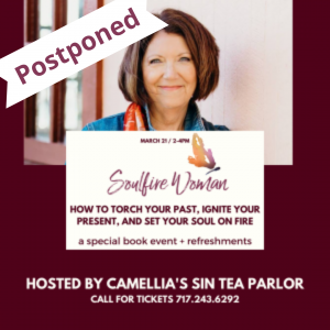 Postponed: Tea and Talk with Dyanne at Camellia's Sin